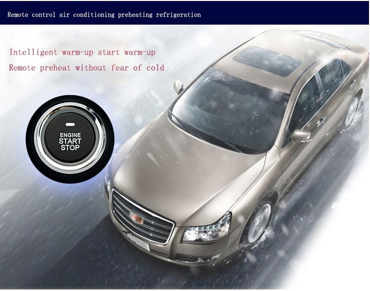 Pour Toyota démarrage à distance système d'alarme de voiture sans clé télécommande bouton de moteur de voiture à distance PKE démarrage arrêt verrouillage Central - 6