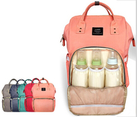 Heine Multi Function Mammy Bags Large Capacity Mother Backpack Baby Bag Maternity Nursing Diaper Bag Shoulder