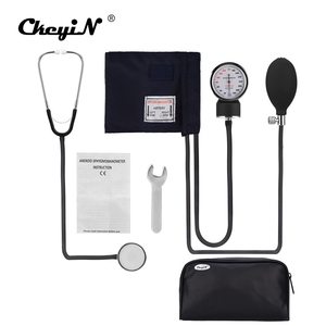 Image 1 - Professional Manual Sphygmomanometer Cuff Blood Pressure Monitor Stethoscope Doctor Household Measure Device With Bag