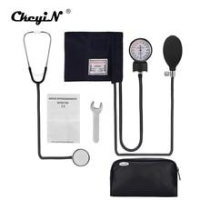 Professionele Handmatige Bloeddrukmeter Manchet Bloeddrukmeter Stethoscoop Arts Huishoudelijke Maatregel Apparaat Met Zak
