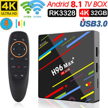CAIXA de TV inteligente Android 8.1 Rockchip RK3328 Intelligente 32 DDR4 4 gb di Ram gb Rom IPTV Set-top caixa 4 k USB 3.0 HDR Media Play(China)