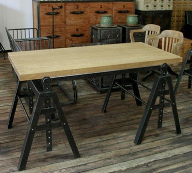 Americano industriale loft stile retrò mobili, in ferro battuto ...