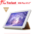 "high quality case For Teclast X98 Plus II/2 Protective Flip Cover Case PU Leather Case For Teclast X98 Plus II 9.7"" tablet pc"