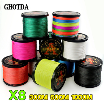 GHOTDA 8 Strands PE Braided fishing lines brands