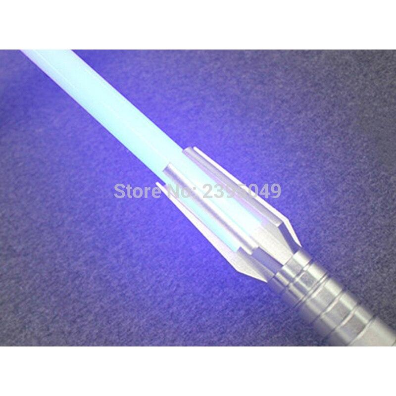 Nueva 8 tipos 1 piezas Lightsaber con la luz 100 cm longitud Cosplay espada aleación Material Light Saber juguete colección regalo de los niños - 4