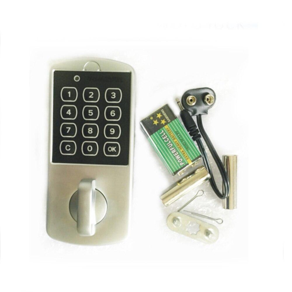 Touch Keypad Password Cabinet Coded Locker Key Access Lock Electronic Security Door Locker Zinc Alloy Digital Coded Locker touch numeric keypad password rfid card key digital electronic cabinet locker lock wholesale