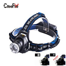Promotion Outdoor 3 Mode Zoomable Profession Headlamp Waterproof Headlight Super Bright Head Light Low Price Without Battery