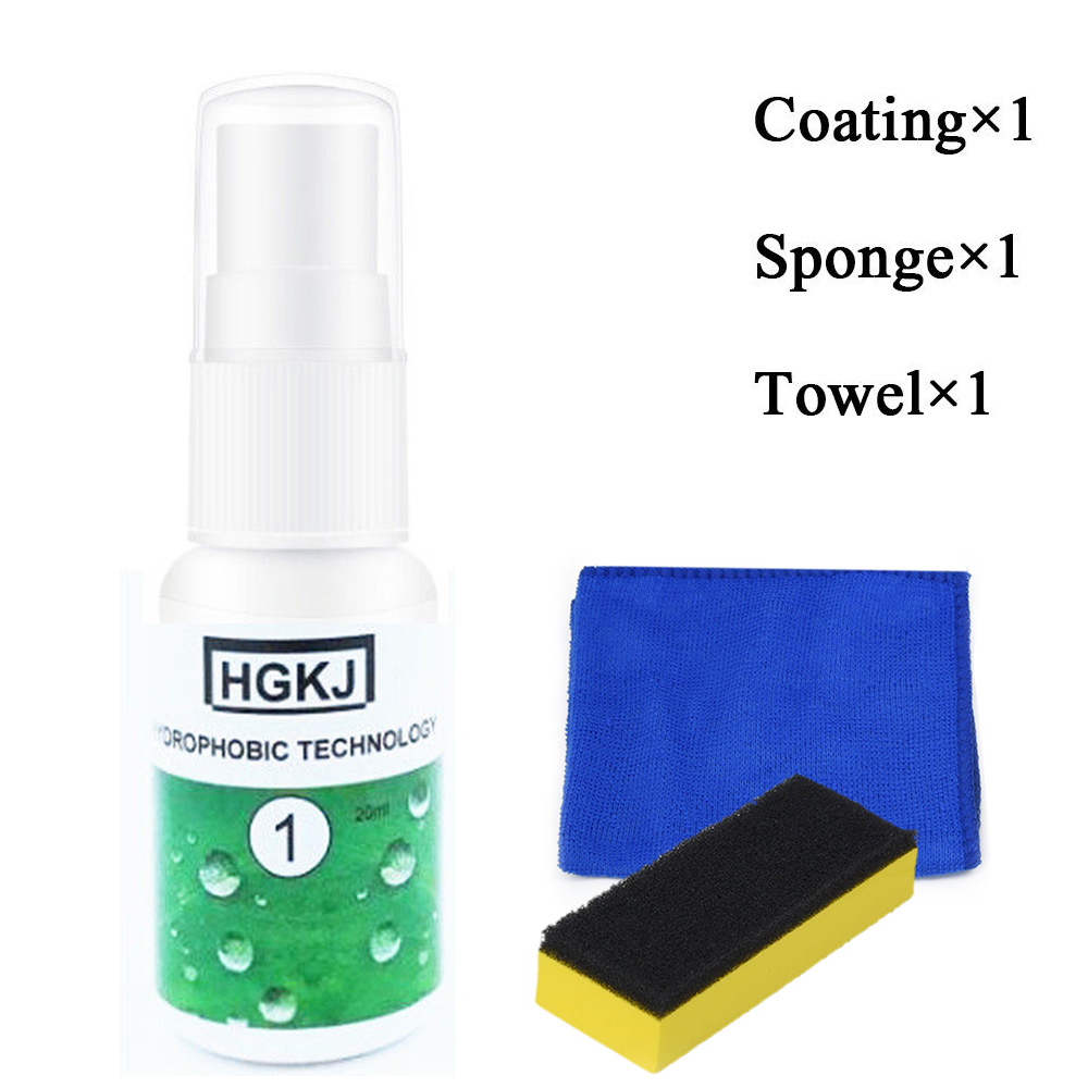 Image 5 - 20ml Car Glass Nano Hydrophobic Coating Shoes Waterproof Agent Spray +Sponge liquid for car glass polish polishing-in Polishing & Grinding Materials Set from Automobiles & Motorcycles