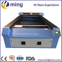 150 watts laser cutting machine for 1.5mm stainless steel sheet with sealed glass tube 1325 for sale
