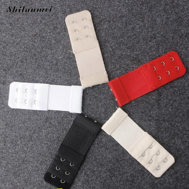 671a73b84a3a8 1Pc 2 Hooks Soft Bra Extender Strap Buckle Extra Extension 5 Colors New  Women Intimates Bra Strap Belt Replacement 32mm