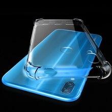Yuetuo Прозрачный ударопрочный телефон назад ETUI, Coque, крышка, чехол для Huawei p20 Lite p20lite Nova 3e кремния силиконовые аксессуары