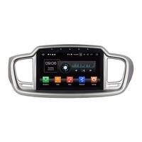 10.1 Android 8.0 Car Audio DVD Stereo GPS Multimedia for Kia Sorento 2015 2016 4GB RAM Radio Bluetooth WIFI USB Mirror link