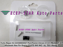 Free ship Turbo Repair Kit rebuild KP35 09 54359880009 54359700009 Turbine For Ford Fiesta For Peugeot 206 For Citroen C3 DV4TD