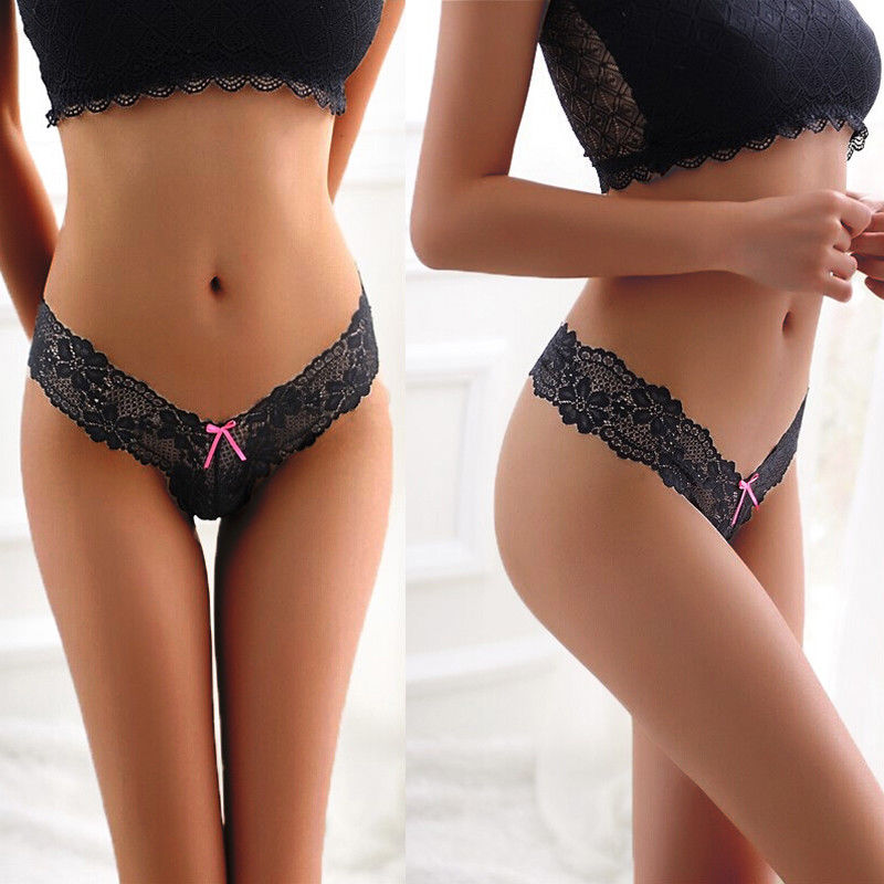 High Rating Women Lady  Bamboo Fiber Panties Underwear  Lace Briefs Knickers