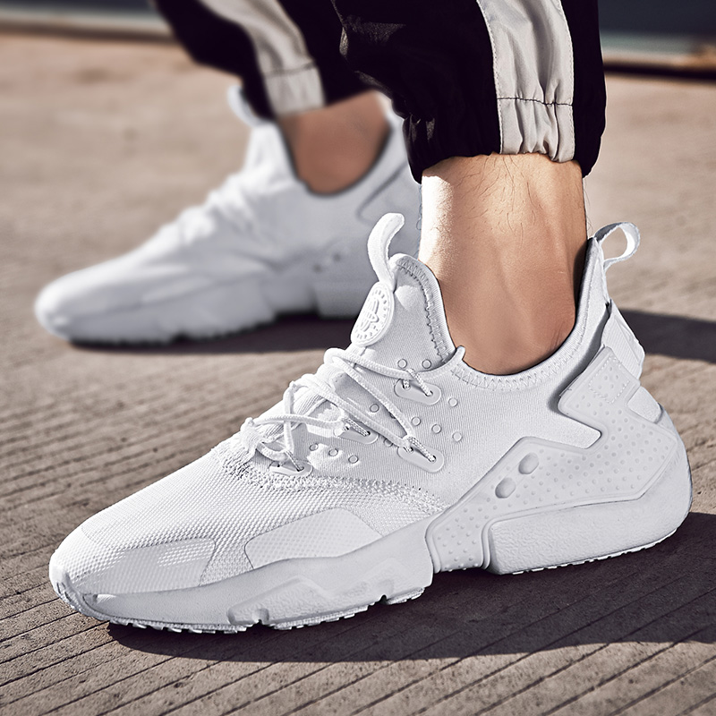 Taille Grande Chaussures Hombre Hommes Automne 8816 2018 8816 white Mode green 8816 White Black Sneakers Zapatos Casual Baskets Appartements Paniers 45 Nouveau Homme 4pPxqPwf7