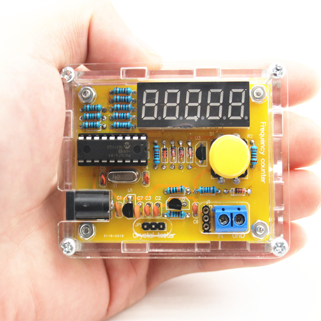 DIY oscillator and frequency counter 4