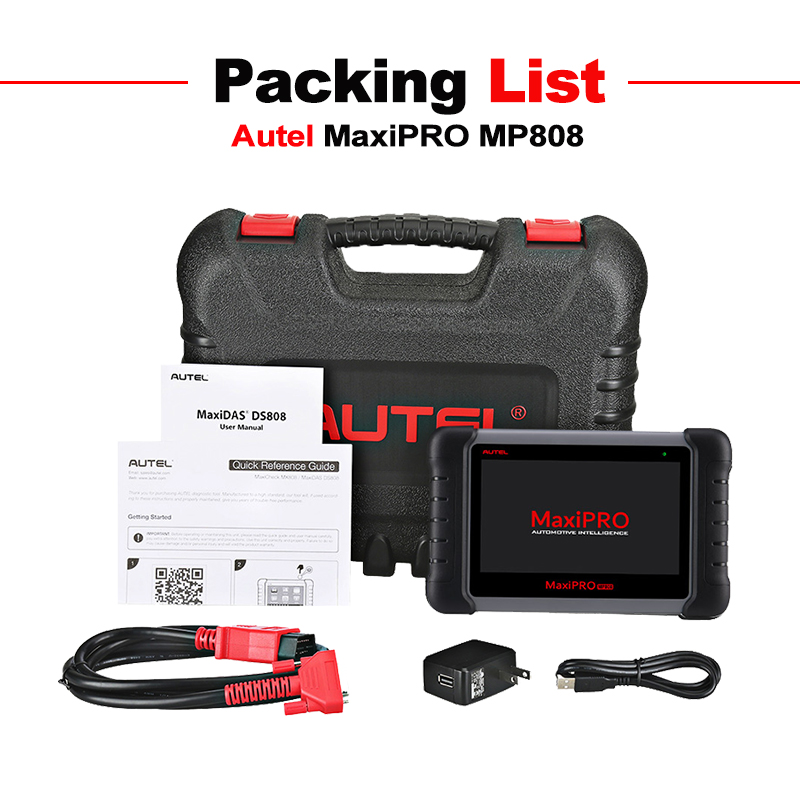 Image 5 - Autel MaxiPRO MP808 Diagnostic Tool OBD2 Professional OE level OBDII Diagnostics Tool Key Coding PK Autel DS808 DS708 MS906 Pro-in Engine Analyzer from Automobiles & Motorcycles