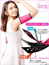 Free shipping Arm Sleeve Shape Butterfly Guards Fatty Sheath Thin Arms Set