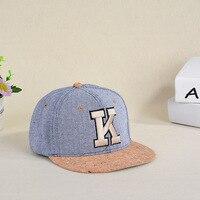 Men And Women Spring And Summer Baseball Cap K Alphabet Duck Cap Tide Along The Hat