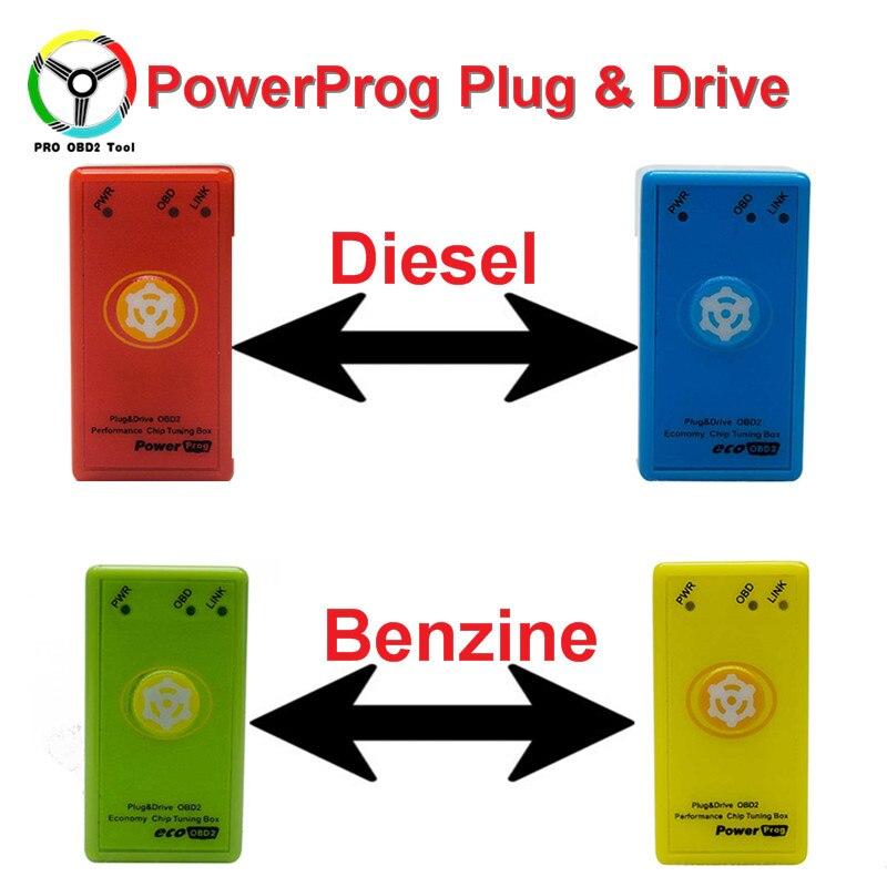Ecoobd2 и nitroobd2 Мощность PROG чип тюнинг коробка с кнопкой сброса для Дизель/автомобили лучше, чем Nitro OBD2 и эко OBD2