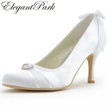 8bf86a5481 Buy ivory satin high heels and get free shipping on AliExpress.com