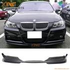 For 2005 2006 2007 2008 BMW E90 325 328 330 335 MTEC & M-SPORT Euro Front Bumper Lip Unpainted PU