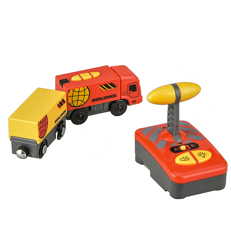 Lodrat e trenave elektrik për fëmijë vendosin lodrën e foleve të - Makina lodër për fëmije - Foto 6
