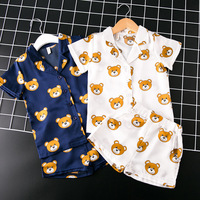 T Summer Girls Boys Top Short Pants Sets Baby Clothes Children Clothing Sets Children Clothing Boys