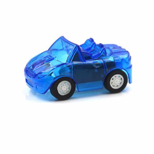 Grote Pull Back Auto Plastic Leuke Speelgoed Auto Voor Kind Wielen Mini Auto Model Kinderen Speelgoed Voor Jongens Snoep Kleur 1 st