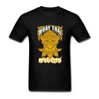 Hanuman muay thai combat À Manches Courtes t-shirt O-cou Hommes T-shirts T-shirt de Conception Classique Hombre DIY Spécial T-shirt