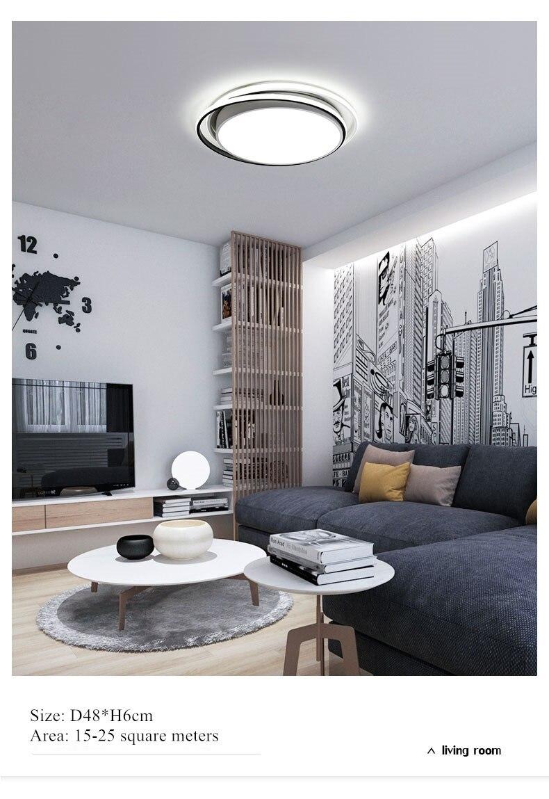 modern led chandelier ceiling lamp 5