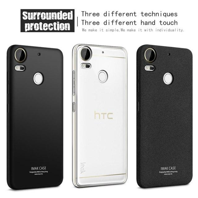 IMAK Мягкие TPU Gel Case For HTC Desire 10 pro с экрана протектор Тонкий Телефон силиконовый Задняя Крышка Для HTC Desire 10 Pro Case