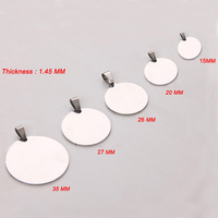 Dropship Accepted 100pcs Stainless Steel Charm Jewelry Accessories for Necklace/Bracelet Wholesale YP6900