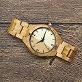 2017 marke Zazac Casual Volle Holz Uhr für Männer Analog Quarz Bewegung Holz Strap Armbanduhr Geschenk relogio masculino-in Quarz-Uhren aus Uhren bei