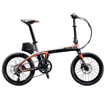 SAVA-Bicicleta eléctrica plegable, de 36v y 250w, de 20 pulgadas, plegable