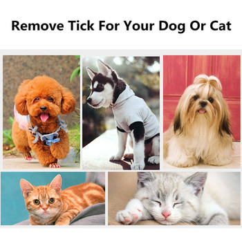 Pet Hair Tick Remover Grooming Tool 1