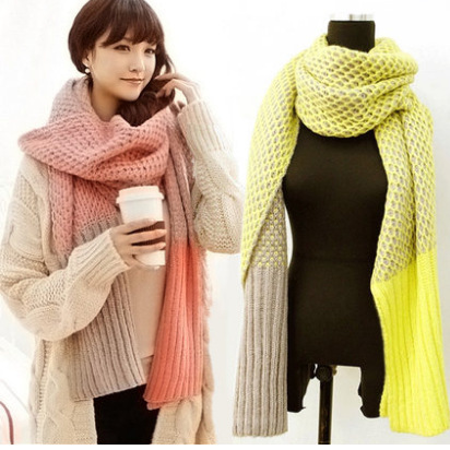popular knitted scarves buy cheap knitted scarves