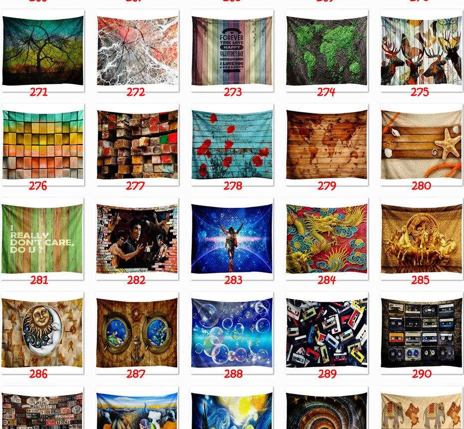 Noite estrelada galáxia decoração psychedelic tapeçaria suspensão