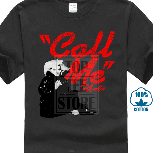1c403efe Blondie Call Me T Shirt Best Of Blonde Eat To The Beat Parallel Lines Print T  Shirt Summer Cool Tops Fashion Tees. 1 order