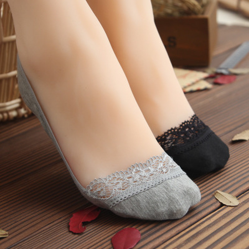 Invisible Short Woman Sweat Comfortable Cotton Bamboo Girl Women's Boat Socks Ankle Low Female Invisible 1Pair=2Pcs