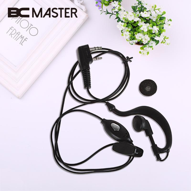 BCMaster 2PIN Earpiece Earphone Headset with Mic for Baofeng UV-5R Two-Way Radio K Type NEW