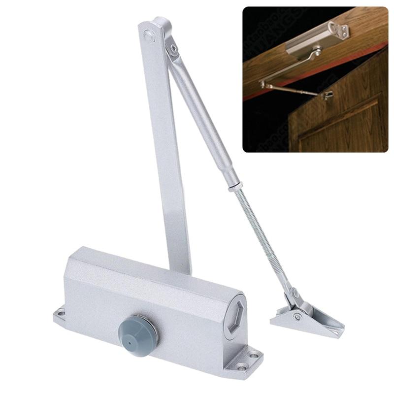 45-65kg Capacity Aluminum Alloy Hold Open Commercial Door Closer