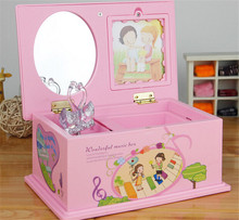 House Toy Music box for kids Swan Musical Box Send Girls Married Lovers Close Friend's Christmas Gift