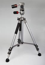 High Quality Professional Aluminum Alloy Weifeng Photo Video Tripod FT-6307 3-way Pan Head Portable Digital Camera Tripod