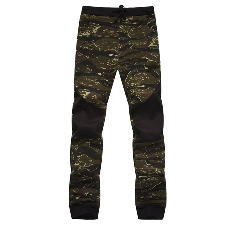 Men's Casual Leisure Print Camouflage Military Joggers Slim Fit Pants Men Pantalons Harem Pants Sweatpants Men Spliced Pants Men