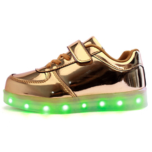 TUTUYU 2016 Free Shipping Spring Autumn Led Luminous Neon Basket Casual Shoes High Glowing with Charge Lights Up