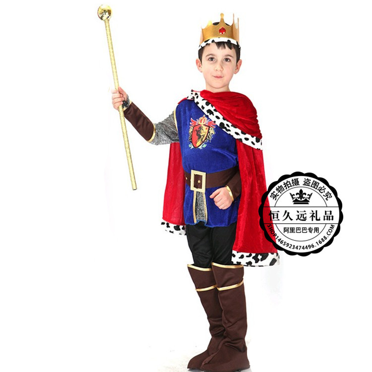 Toddler Halloween Costumes 3 4 5 6 7 8 9 10 11 12 Years Halloween Outfits For Boys 2018 Kids Clothes King Birthday Clothing Gift