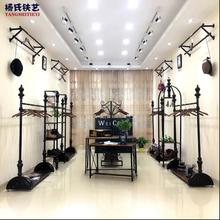 Clothing store display stand floor-standing water platform womens clothing shelves