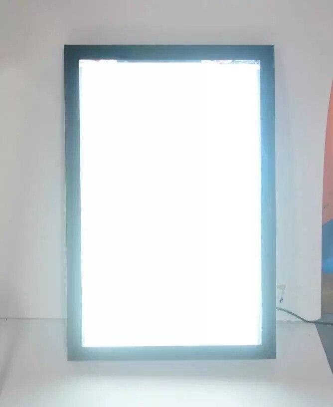 Wholesale A1 Slim Aluminum Frame LED Edge lit Advertising Light Box ...