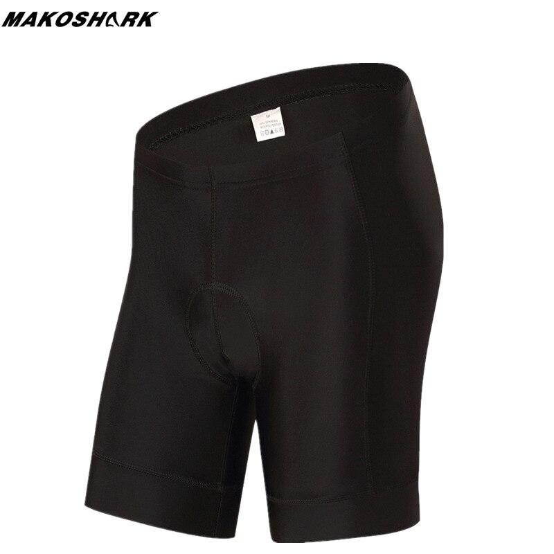 MAKOSHARK Hot Sale Women's Cycling Shorts 5D Gel Padded Breathable Summer Sports MTB Bike Tight Shorts Bermuda Ciclismo